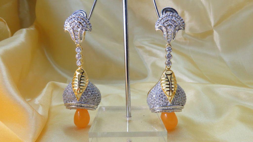 wholesale cubic zircon earrings